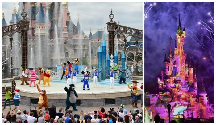 """Elke avond een spectaculair lichtspel in de Disney-parade: """"Zelfs als het sneeuwt, gaat de optocht door"""""""