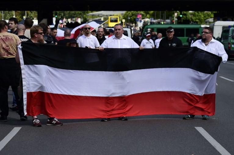 Honderden neonazi's trekken door Berlijn ter ere van Hitlers plaatsvervanger