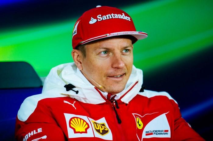 Kimi Raikkonen rijdt ook in 2018 voor Ferrari