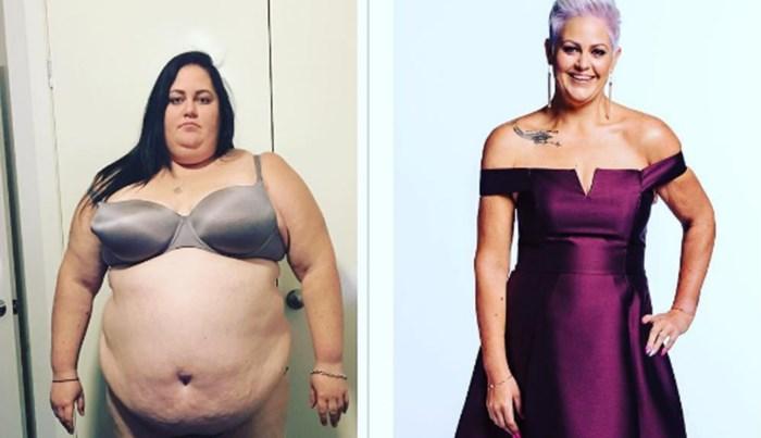Elle loopt nu vlotjes een triatlon, maar daarvoor moest ze wel 115 kilo afvallen