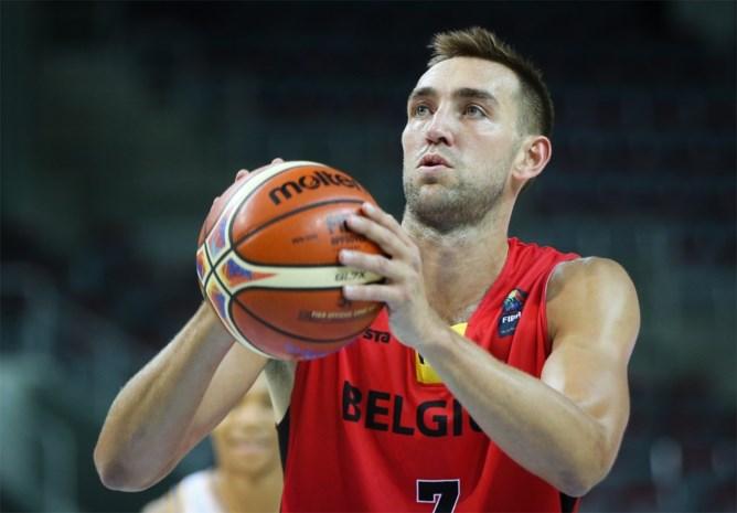 Axel Hervelle mist oefenduel tegen Spanje, maar geraakt fit voor EK basketbal
