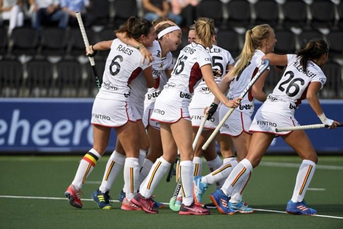 Red Panthers klaren de klus tegen Spanje en staan in halve finale EK hockey