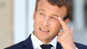 Populariteit Franse president Macron fors gedaald