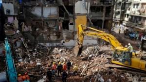 Dodental na instorting van gebouw in Mumbai loopt op tot 33