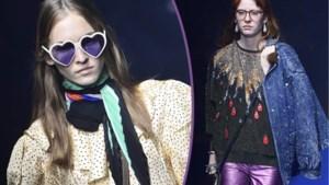 Gucci opent de Milanese modeweek met eerbetoon aan opvallende muze