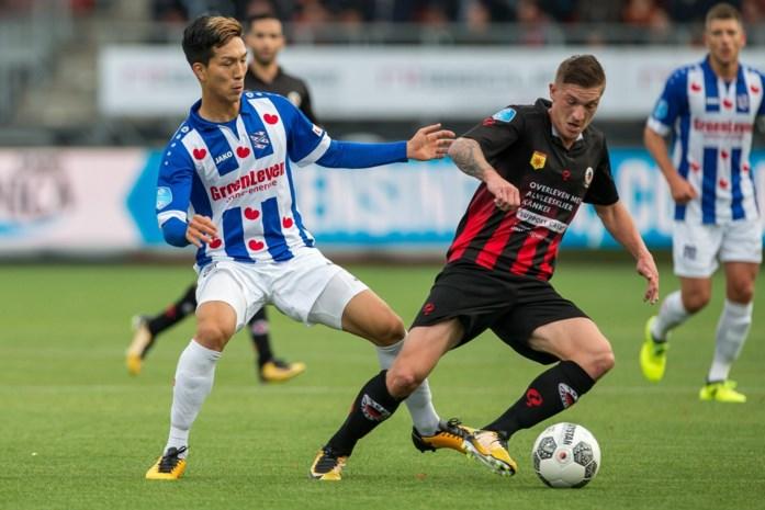 Ismail Azzaoui helpt Willem II met goal, Jinty Caenepeel scoort voor Excelsior