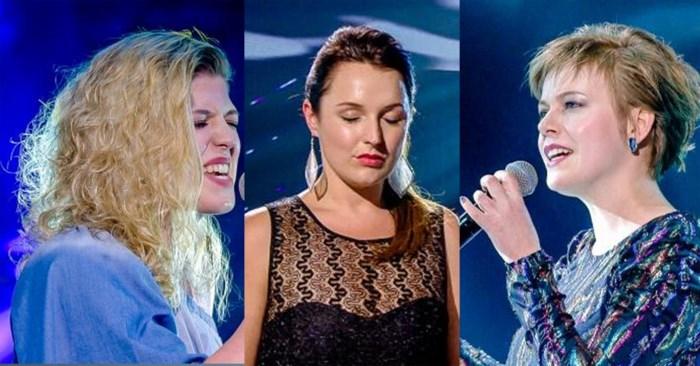 Lisa, Stefanie en Kalina belanden in wachtkamer van 'The Voice'