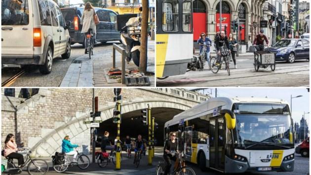 De 10 gevaarlijkste plekken voor fietsers in Antwerpen: dit wil de stad eraan doen