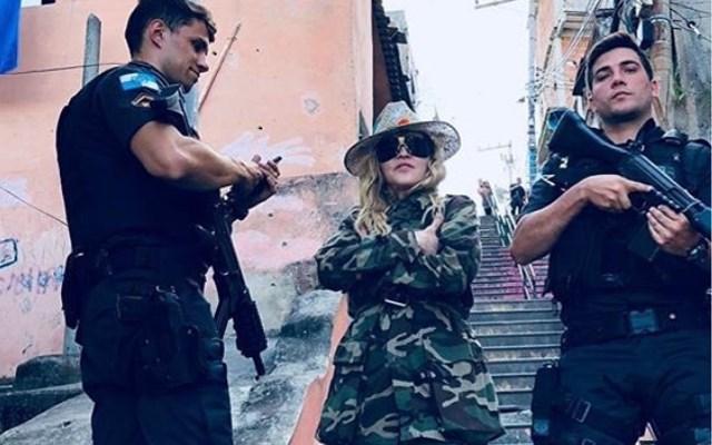 Niet iedereen is blij met deze foto van Madonna