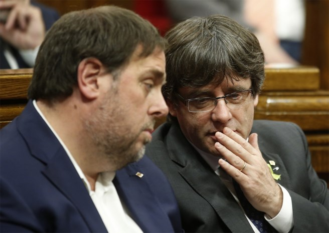 """Puigdemont is en blijft minister-president"""