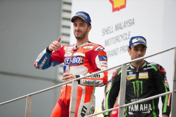 Dovizioso maakt WK MotoGP weer spannend met zege in Maleisië, wereldkampioen in Moto2 gekend