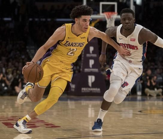 NBA. LA Lakers nemen in eigen Staples Center maat van Detroit