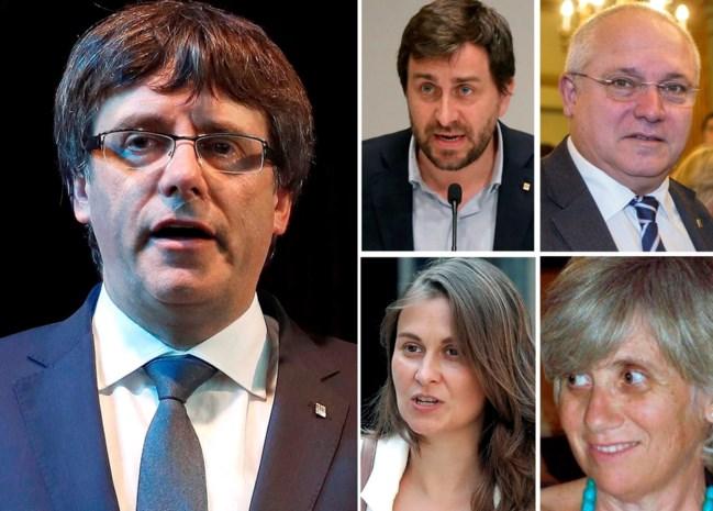 """""""Arrestaties Puigdemont en co. zullen komende uren plaatsvinden"""" Volg de personferentie hier LIVE"""