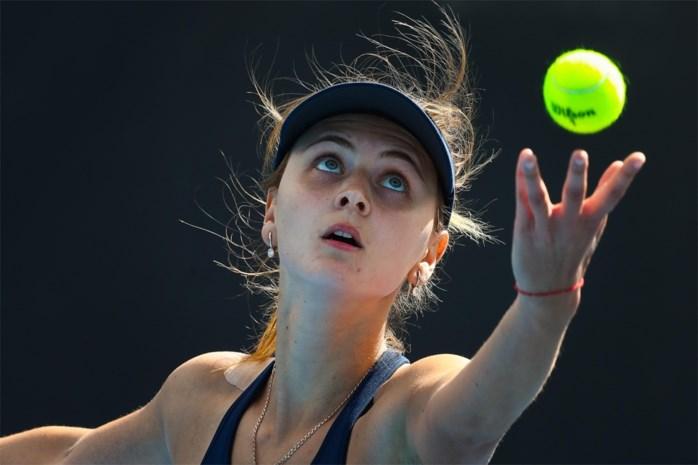 Maryna Zanevska bereikt dubbelfinale WTA Limoges zonder te spelen
