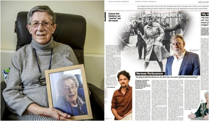 """93-jarige Antwerpse herkent zwaar door repressie aangepakte zus op foto in uw krant: """"Plots waren wij zwarten"""""""