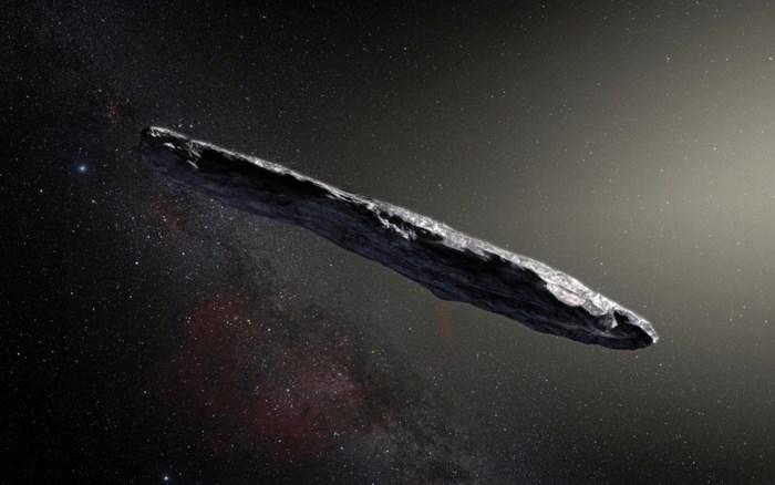 """Onderzoekers ontdekken eerste interstellaire bezoeker: """"Zeker 400 meter lang onbeschrijflijk object"""""""