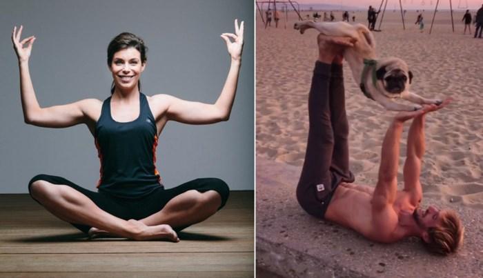Yoga met je hond? Evy Gruyaert leert je binnenkort hoe dat werkt