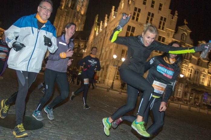 Dit is het parcours van de GVA Urban Trail Mechelen 2017