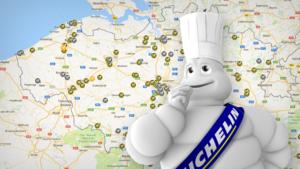 KAART. Bekijk hier de sterrenrestaurants in jouw buurt