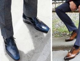 Mannen: deze schoenen draag je onder je kostuum