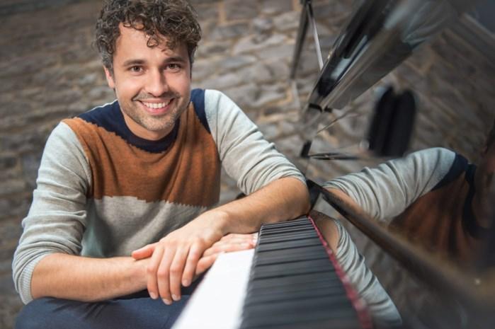 Thomas Vanderveken in lappenmand op enkele dagen van pianoconcerto