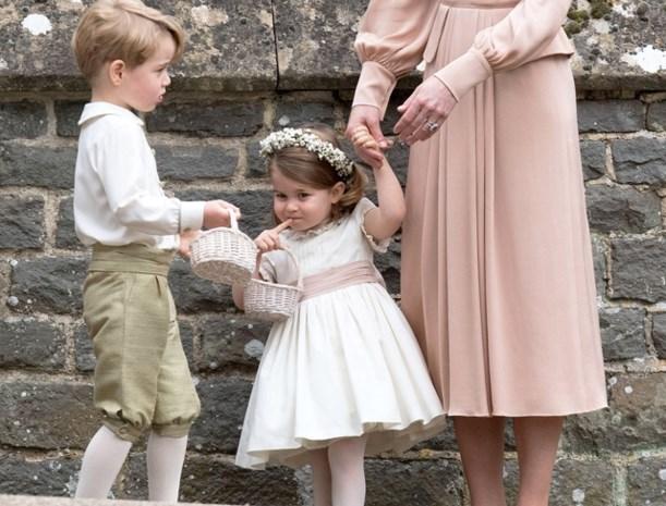 Prins George en prinses Charlotte krijgen belangrijke rol op het huwelijk van het jaar