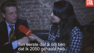 Hoe kijkt Bent Van Looy naar 2050?
