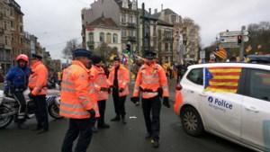 "Brusselse politie reageert op foto politievoertuig met Catalaanse vlag: ""Sfeer was ludiek"""