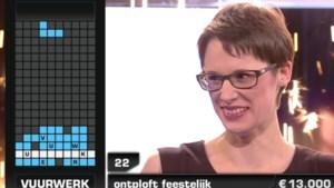 Vuurwerk! Eline kroont zich tot superwinnaar van 'Blokken'