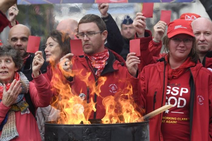 Antwerpse containerparken sluiten deuren door vakbondsactie