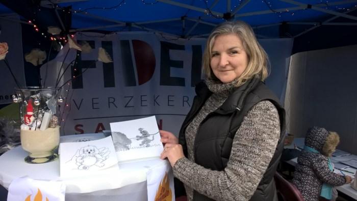 Schrijfster verkoopt voorleesboekjes voor Appel & Ei