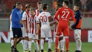 Olympiakos-Belgen staan met anderhalf been in kwartfinales Griekse beker