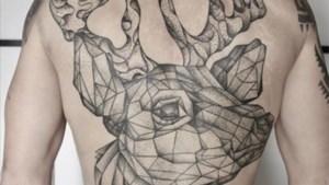 Indrukwekkende hert-tatoeage van Tom Boonen is af