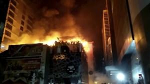 Vijftien doden na brand in dakrestaurant tijdens verjaardagsfeest