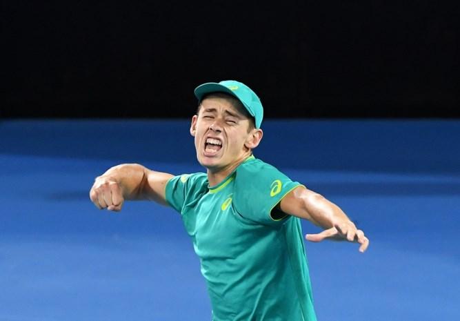 Australische tiener verknalt comeback van tennistopper Milos Raonic in Brisbane