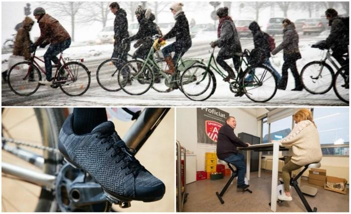 Van airbag tot bureaubike: dit zijn de fietstrends voor 2018