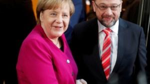 Merkel start cruciale etappe in coalitiegesprekken