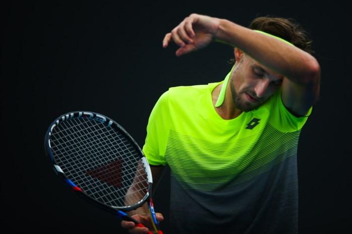 Ruben Bemelmans werkt wedstrijd op Australian Open tegen Galovic zaterdag verder af