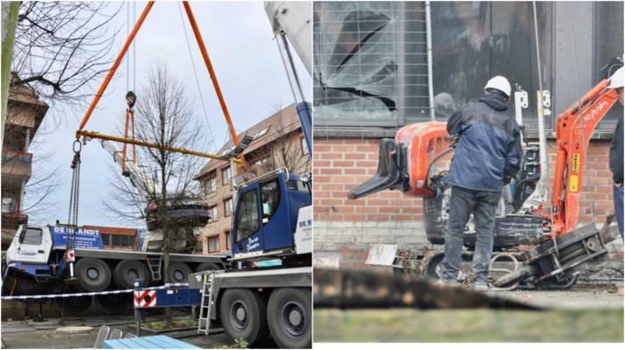 """Grote kraanwagen kantelt tijdens banale klus: """"Onze flat was aan het daveren"""""""