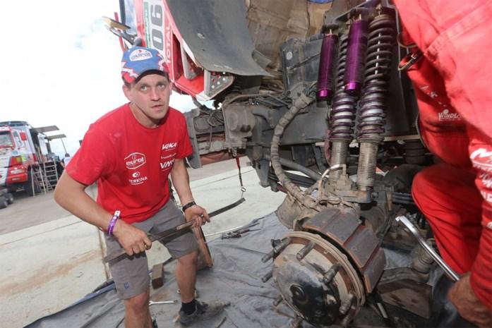 """Jan Van der Vaet geniet van """"zware maar ongelofelijk mooie Dakar"""""""