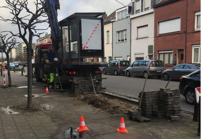 Bushokjes aan Nieuwdreef verwijderd