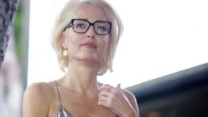 'The X-Files'-actrice Gillian Anderson ziet er onherkenbaar mager uit