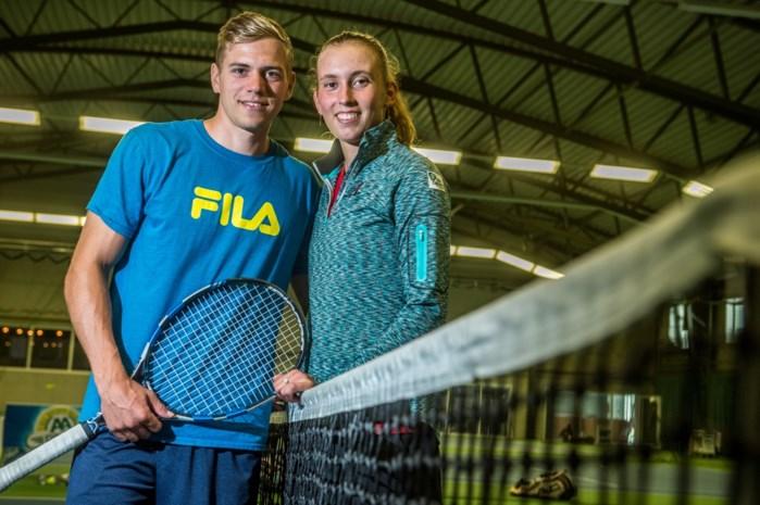Robbe Ceyssens, coach en partner van Elise Mertens, werkt plan uit voor nieuwe zege op Australian Open