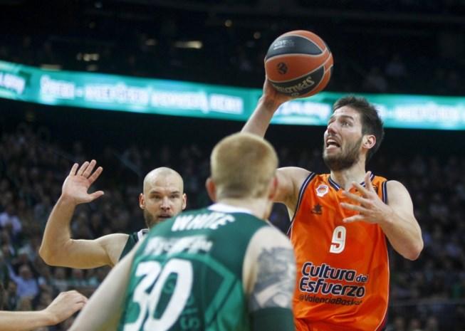 Sam Van Rossom lijdt met Valencia in Litouwen dertiende nederlaag in Euroleague