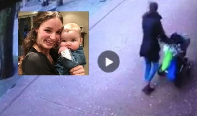 """VIDEO. Vrouw en baby ontsnappen op het nippertje aan de dood wanneer boom omvalt: """"Engeltje op onze schouders"""""""