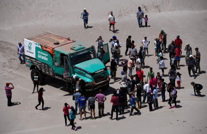 Peter Willemsen verliest twee uur in Dakar-rally