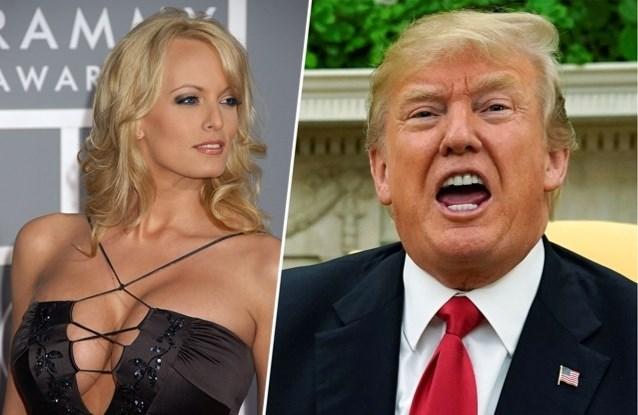 Pornoactrice vertelt over avontuurtje met president Trump