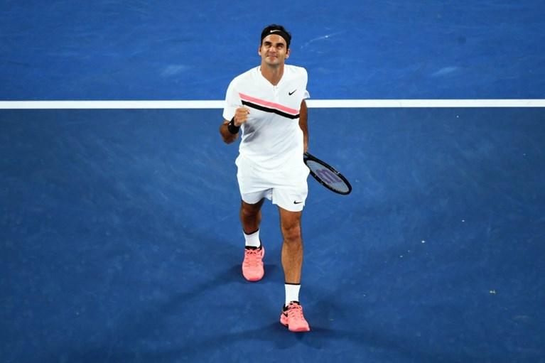 """AUSTRALIAN OPEN. Djokovic klopt Monfils in """"brutale"""" omstandigheden, Federer en Halep makkelijk door"""