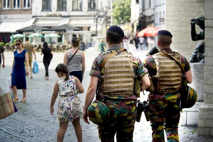 Drie jaar militairen op straat kostte ons land 140 miljoen euro