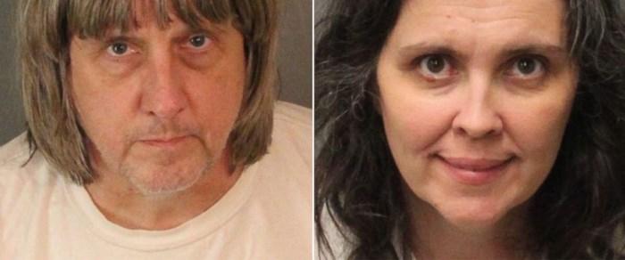 Gruwelijke nieuwe details vrijgegeven van ouders die 13 kinderen gevangen hielden
